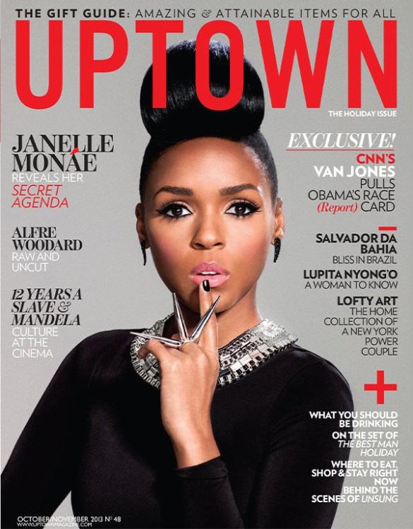 Janelle Monáe Covers UPTOWN Magazine
