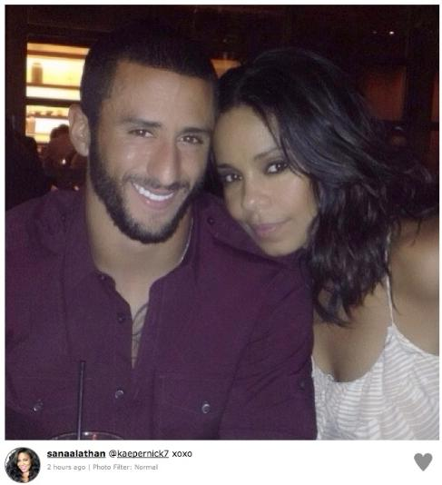 Sanaa Goes Kapernicking: Actress (42) and Athlete (25) an Item?