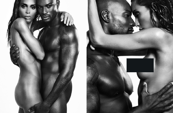 Tyson Beckford Poses In Seductive Shoot With Transgender Model Ines Rau