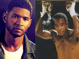 Usher Shows Off 30-Pound Weight Loss In First Images As Sugar Ray Leonard