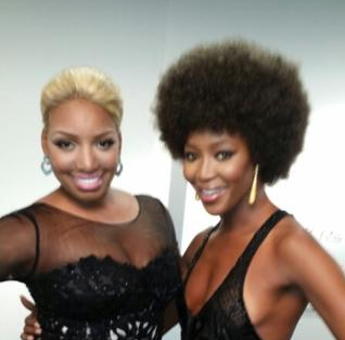 WATCH: Naomi Campbell Teaches NeNe Leakes The Naomi Campbell Walk