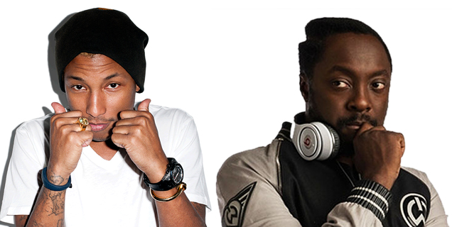 Pharrell and Will.i.Am Settle Their Cat Fight