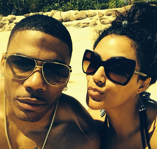Nelly and Shantel Resurface After the Fight