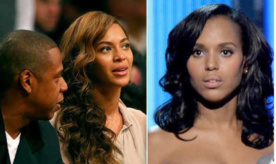 Kerry Washington Slams Beyonce for Staying With Jay Z