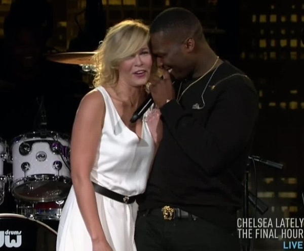 """50 Cent Gets FLIRTY With Ex Chelsea Handler On """"Chelsea Lately"""" Finale Night"""