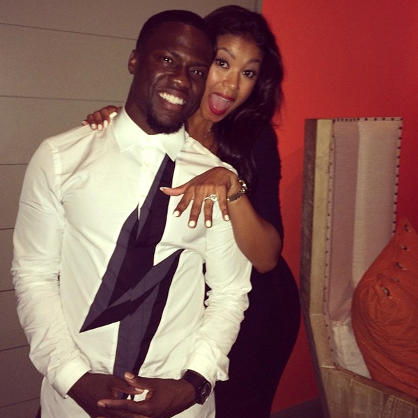Kevin Hart Engaged to Girlfriend Eniko Parrish—See the Ring!