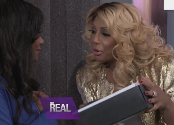 Emotional: Tamar Braxton Gives Terminally Ill Fan Her First Chanel Bag