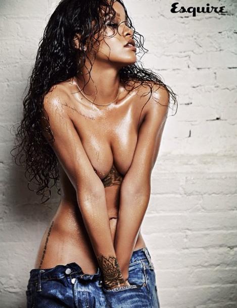 Rihanna Covers Esquire Magazine