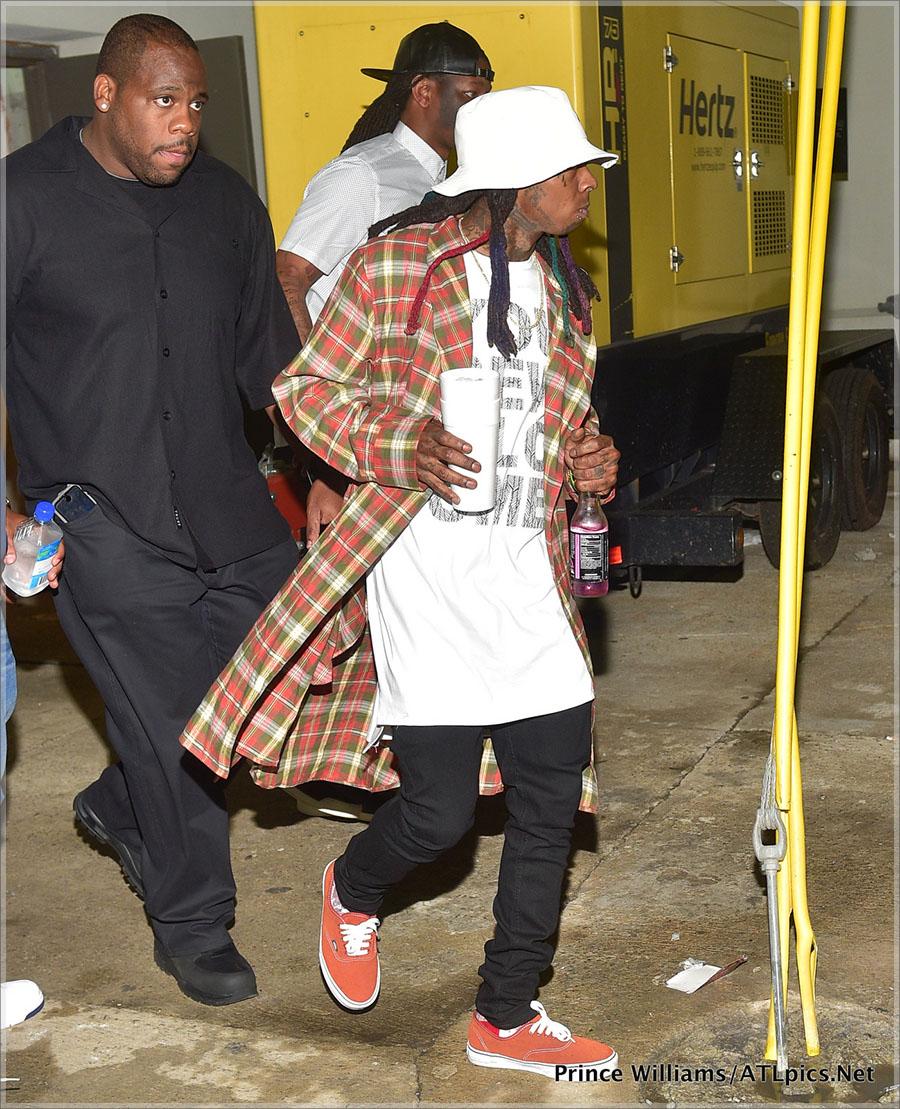 Lil Wayne's Tour Bus Shot Up Following His Concert in Atlanta
