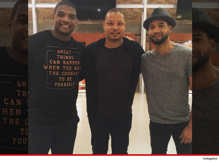 Empire star Jussie Smollett keeping it Real