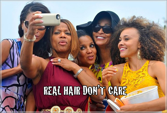 """""""Real Housewives of Potomac"""" Flaunt Their REAL Hair"""