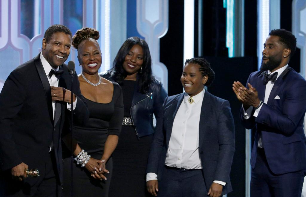 Emotional Denzel Washington Puts Family Center Stage During Acceptance Speech