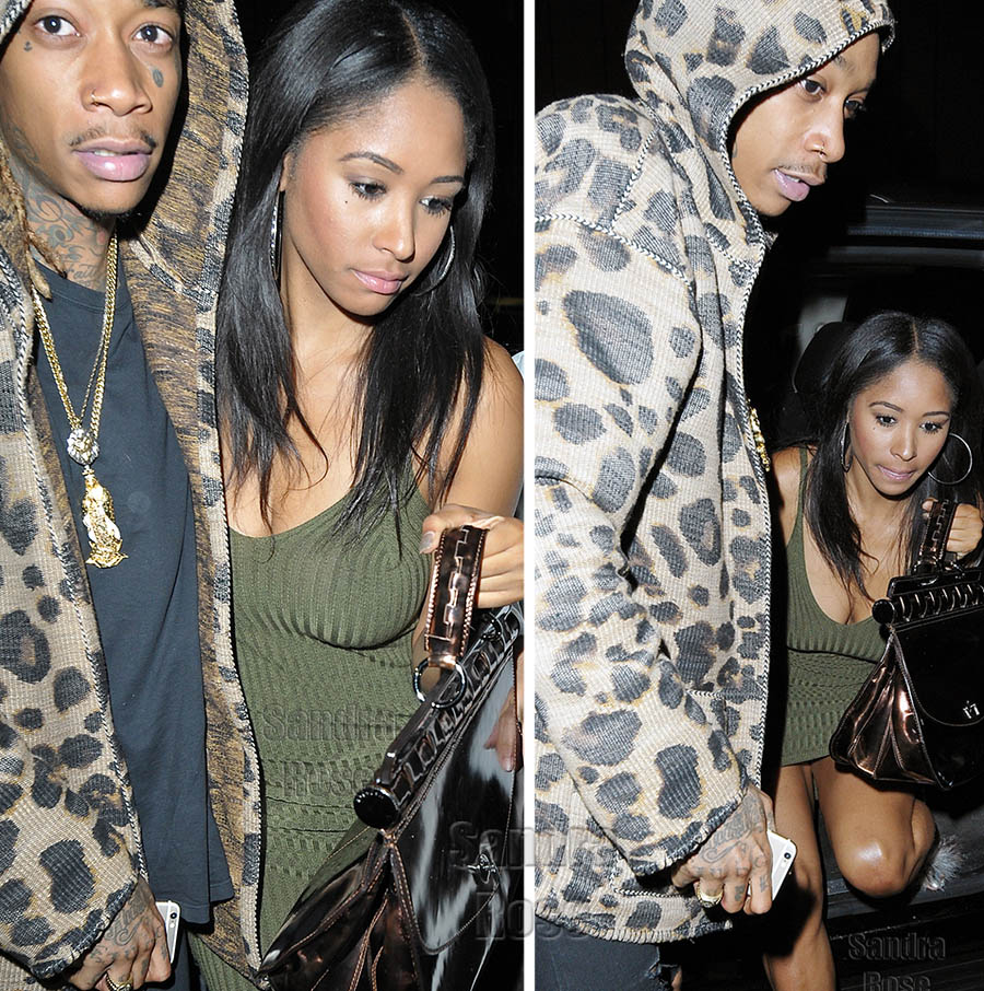 Wiz Khalifa Spotted Out With New Girlfriend