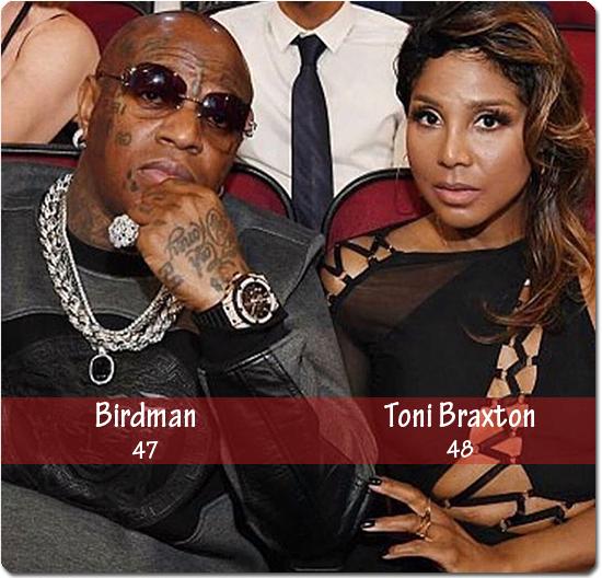 Power Couple Birdman and Toni Braxton