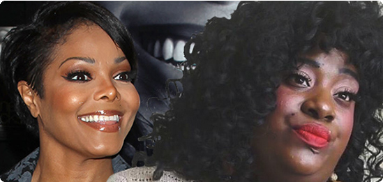 Janet Jackson and her alleged secret daughter, Tiffany Whyte, could pass for twins