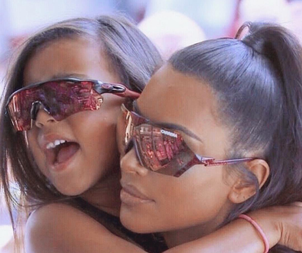 North West Makes Her Runway Debut As Kim Kardashian Watches [VIDEO]