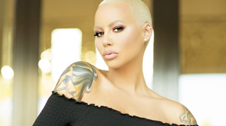 """Amber Rose Outraged 
