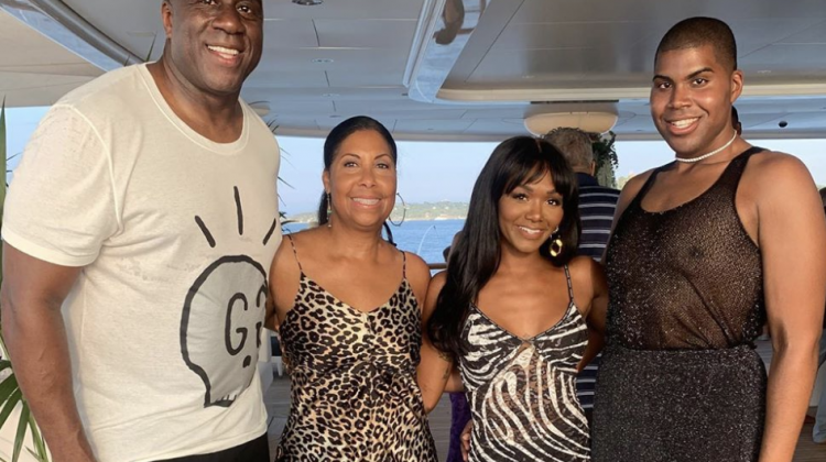 Magic Johnson's Grand Celebration | Judge Faith Tea Just For Rickey Smiley [VIDEO]