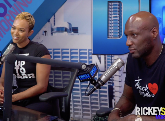 Lamar Odom & Sabrina Parr Tell How They Met [VIDEO]