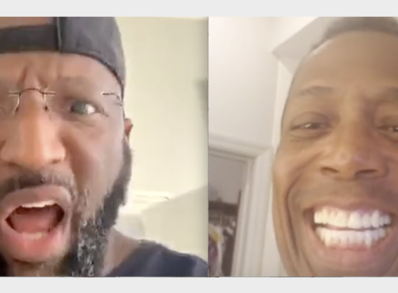 Showing My Home To Rickey Smiley [VIDEO]